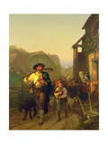 The Cattle Tenter, 1857 Giclee Print by Gustave Brion