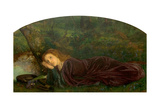 The Rift Within the Lute, 1861-62 Giclee Print by Arthur Hughes