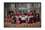 The Last Supper Giclee Print by Girolamo da Santacroce