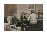 My Parents in the Living Room, 2011 Giclee Print by Max Ferguson