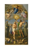 The Baptism of Christ Giclee Print by Battista Franco