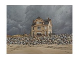 Normandy Beach House, Summer Storm, 2000 Giclee Print by Peter Breeden