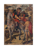Saint Martin and the Beggar Giclee Print by Giovanni Di Niccolo Mansueti