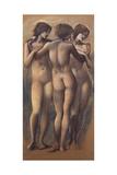 The Three Graces, c.1885 Giclee Print by Sir Edward Coley Burne-Jones