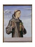 St. Anthony of Padua, c.1480 Giclée-tryk af Alvise Vivarini