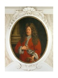 Portrait of a Gentleman in Red Giclee Print by Niccolo Cassana