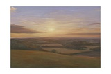 Wiltshire Sunset, 2009 Giclee Print by Peter Breeden