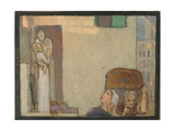 Study for the Farewell, c.1907 Gicleetryck av Frederick Cayley Robinson