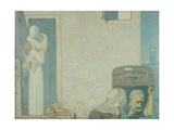 The Farewell, c.1907 Giclee Print by Frederick Cayley Robinson
