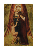 St Michael of Good Children, 1864 Giclee Print by Simeon Solomon