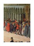 Musicians, Detail from the Procession of the Cross in St. Mark's Square, 1496 Giclee Print by Gentile Bellini
