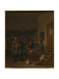 Interior of an Inn Giclee Print by Egbert Van The Elder Heemskerk