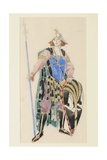 Costume Design for Tristan, 1920 Giclee Print by Charles Ricketts