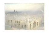 The Rain from Heaven, 1922 Giclee Print by Albert Goodwin