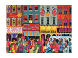 A Saturday Morning 1, from 'Carnaby Street' by Tom Salter, 1970 Giclee Print by Malcolm English