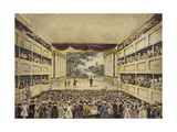 Interior of the Theatre Royal, Orchard Street, Bath Giclee Print by Samuel James Poole