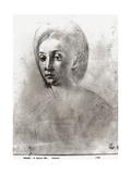 Head of a Woman Giclée-tryk af Jacopo da Carucci Pontormo