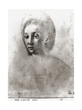 Head of a Woman Giclee Print by Jacopo da Carucci Pontormo