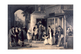 A Country Post Office, 1837 Giclee Print by Edward Villiers Rippingille