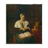 Sleeping Woman Giclee Print by Gabriel Metsu