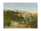 Volterra, 1834 Giclee Print by Jean Baptiste Camille Corot
