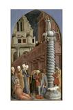 Martyrdom of St. Lucy Giclée-Druck von Antonio Vivarini
