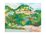 Segueret, 2003 Giclee Print by Fred Yates
