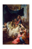 Death of Tobias's Father, 1733 Giclee Print by Pierre Parrocel
