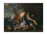 Still Life with Dog and Game Giclee Print by Jan Fyt