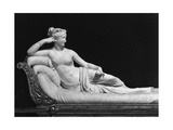 Pauline Bonaparte, Princess Borghese as Venus Triumphant, c.1805-08 Giclee Print by Antonio Canova