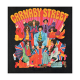 Carnaby Street, from 'Carnaby Street' by Tom Salter, 1970 Giclee Print by Malcolm English