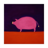 The Pig Giclee Print by Cristina Rodriguez