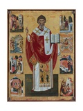 Saint Spyridon Giclee Print by Emanuel Zane