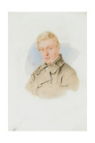 Portrait of William James Blacklock, c.1840 Giclee Print by Thomas Heathfield Carrick