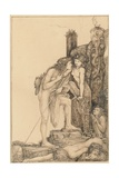 Oedipus and the Sphinx, 1891 Giclee Print by Charles Ricketts