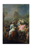 Captivity of the Israelites, 1733 Giclee Print by Pierre Parrocel