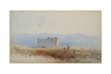 Buit's Castle, Near Bewcastle, 1840-58 Giclee Print by William James Blacklock