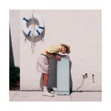 My Father at a Water Fountain, 2011 Giclee Print by Max Ferguson