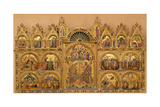 Polyptych from the Church of Santa Chiara, c.1350 Giclée-tryk af Paolo Veneziano