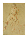Studies of a Male Nude, 1917 Giclee Print by Charles Haslewood Shannon