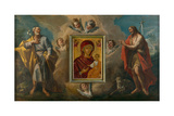 Saints Joseph and John the Baptist, 1755 Giclee Print by Gasparo Diziani