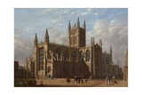 Bath Abbey, 1835 Giclee Print by George Sidney Shepherd