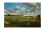 Cricket Match at Edenside, Carlisle, c.1844 Giclee Print by Samuel Bough