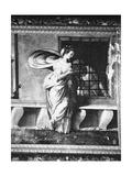 Roman Charity (Detail) Giclée-Druck von Perino Del Vaga