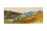 Mountain Landscape, 1843-47 Giclee Print by George Frederick Watts
