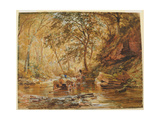Cadzow Burn, 1856 Giclee Print by Samuel Bough