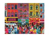 A Saturday Morning 2, from 'Carnaby Street' by Tom Salter, 1970 Giclee Print by Malcolm English