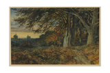 Naworth Castle, 1840-45 Giclee Print by Samuel Bough