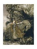 Brunnhilde, 1910 Giclee Print by Arthur Rackham