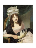 Portrait of Sophia Dumergue, c.1780 Giclee Print by Johann Zoffany